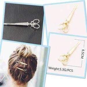 💕New! Scissors barrette hair clip💕